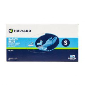 Halyard Basics Blue Luva Nitrilo