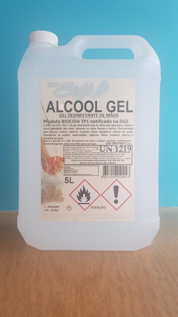 Álcool Gel Desinfetante 5 Litros
