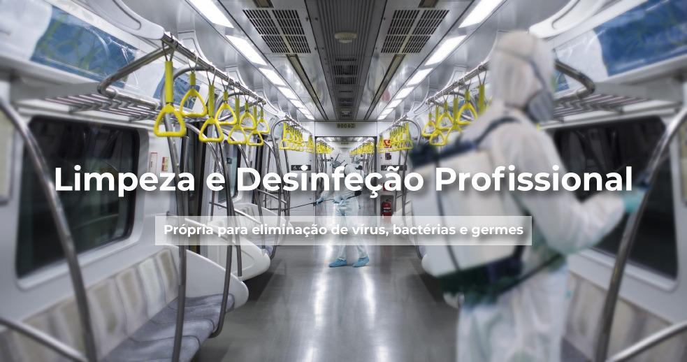 Limpeza e desinfeção profissional