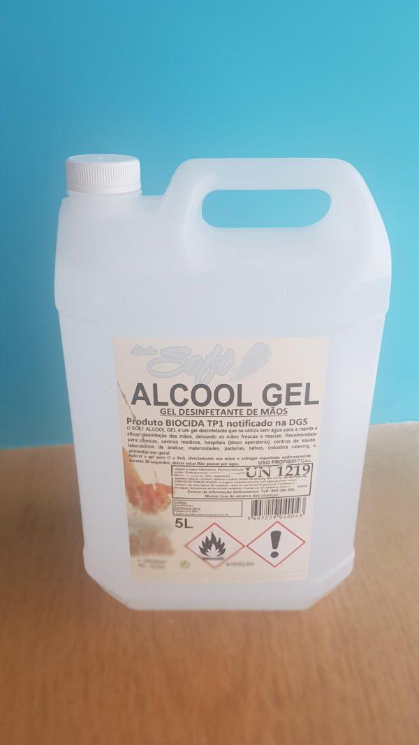 Álcool Gel 5l - Frente